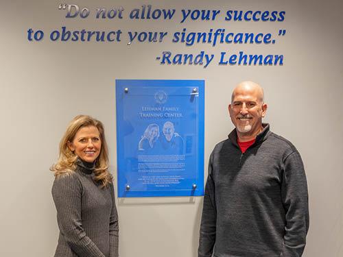 Randy and Deb Lehman